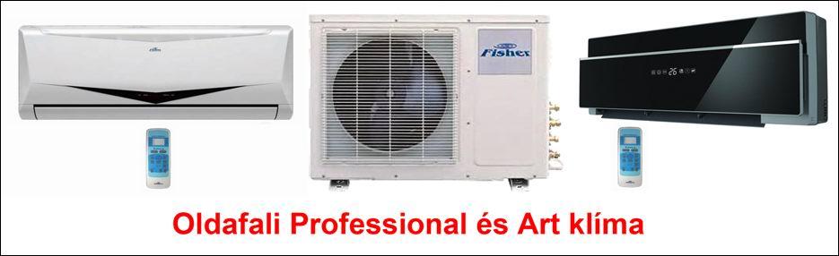 Fisher professional inverteres klíma berendezések
