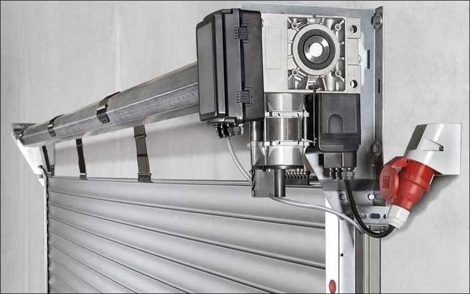 Teckentrup redőnykapu motor és hajtómű